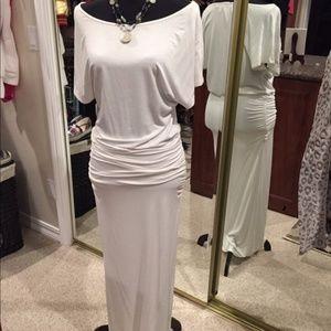 Victorias Secret White Knit Short Sleeve Dress